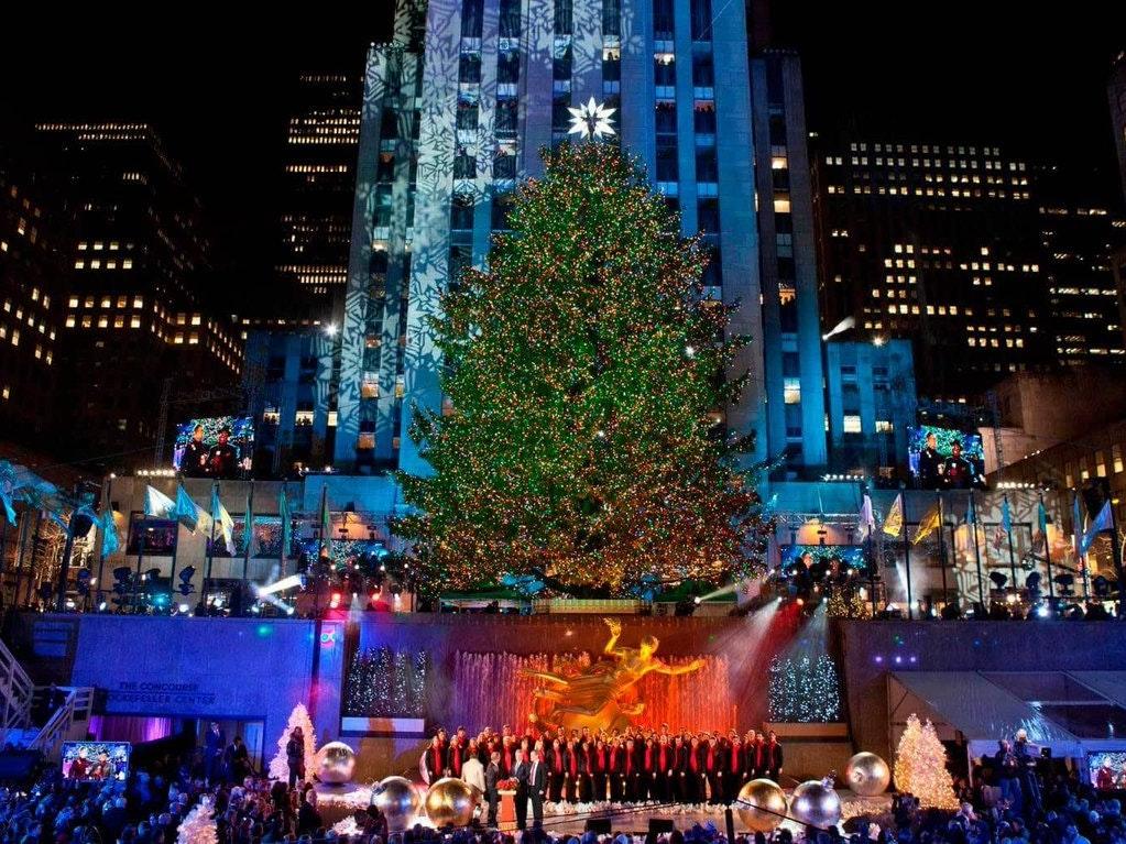 Rockefeller Center Weihnachtsbaum