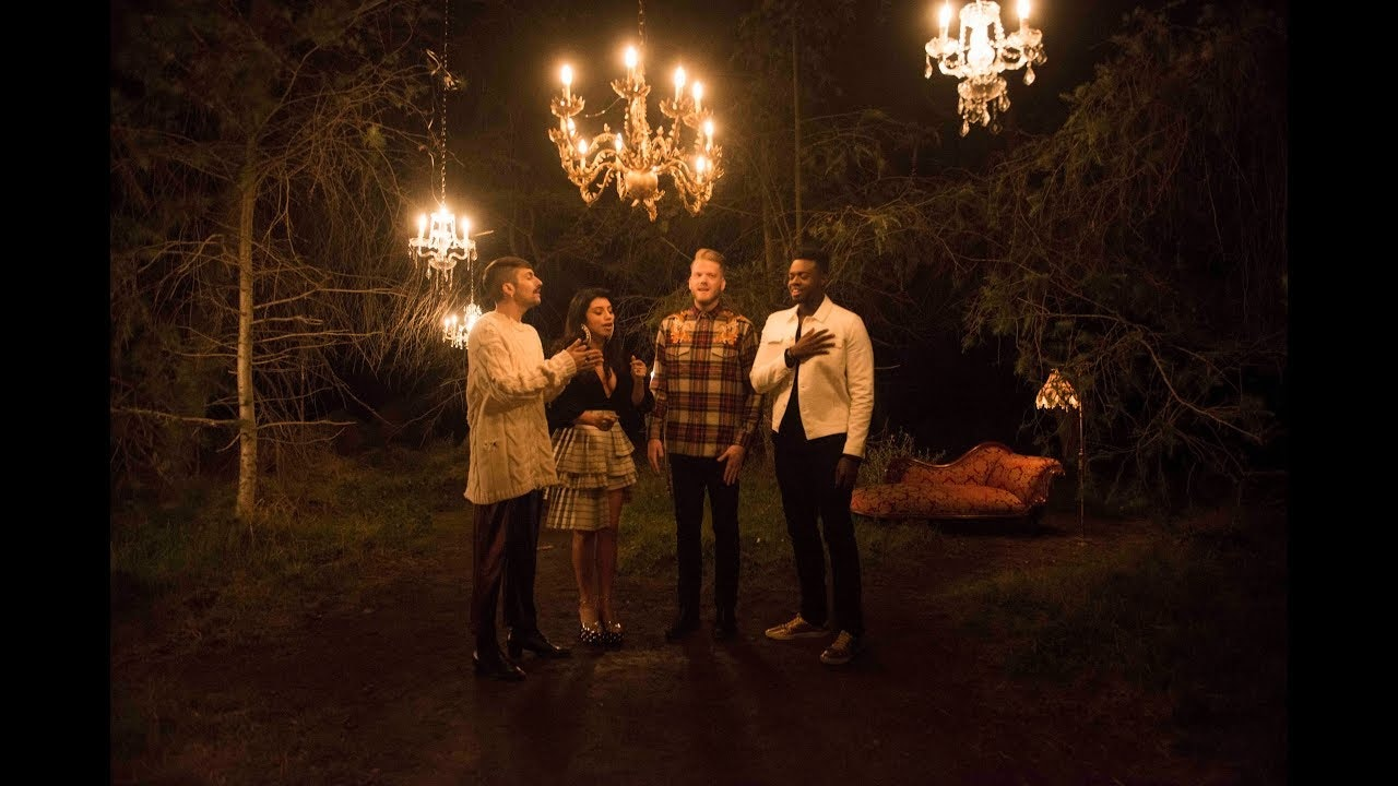 [OFFICIAL VIDEO] Away in a Manger – Pentatonix